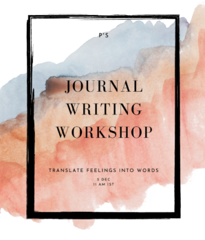 Journal Writing workshop